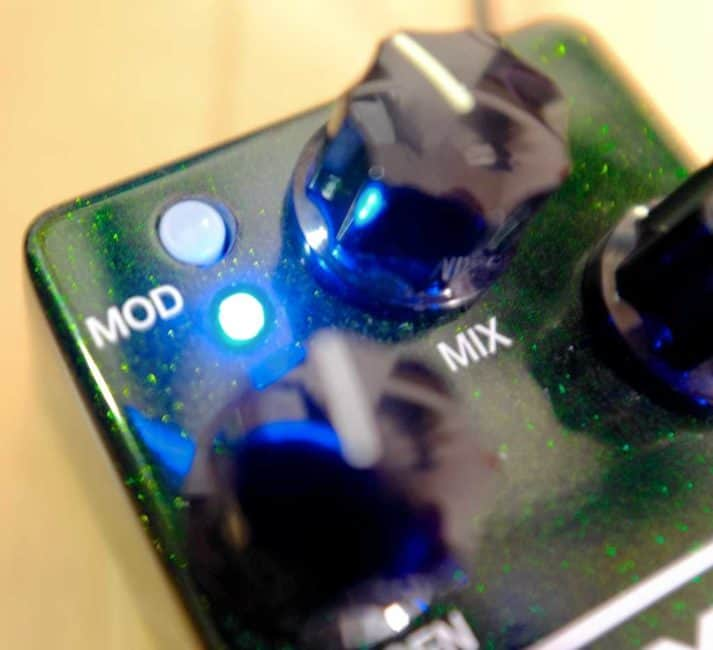 MXR Carbon Copy Analog Delay Modulation Delay スイッチ