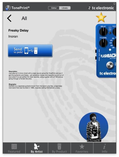 TC Electronic Flashback Delay & Looper toneprint