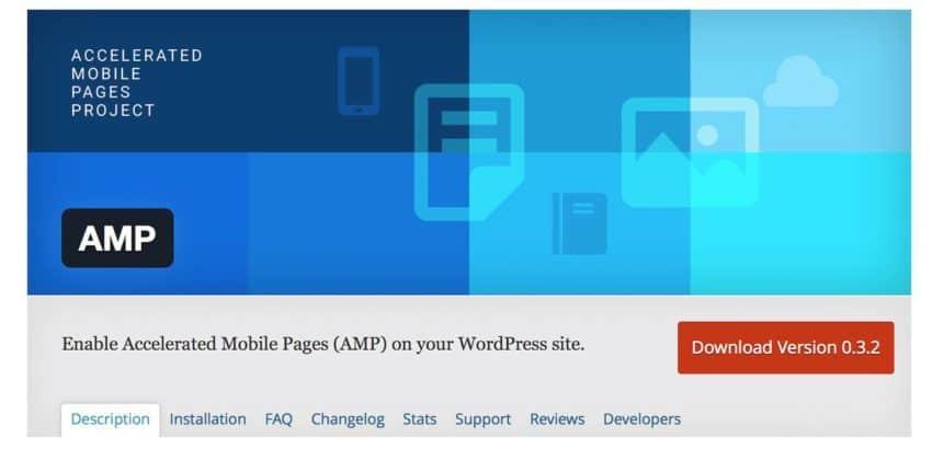 WordPress AMPプラグイン