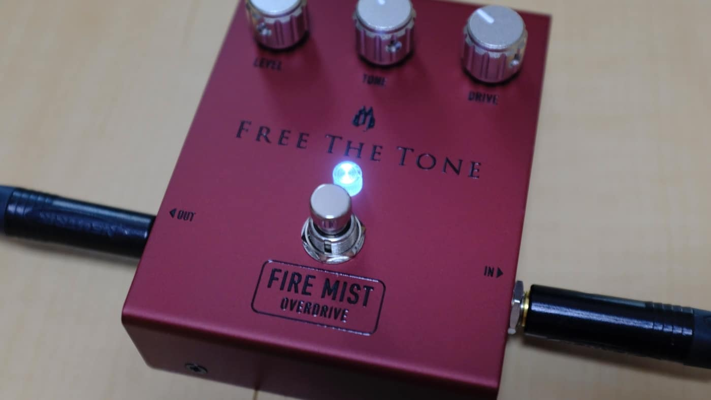 Free The Tone FM-1V FIRE MIST オーバードライブ