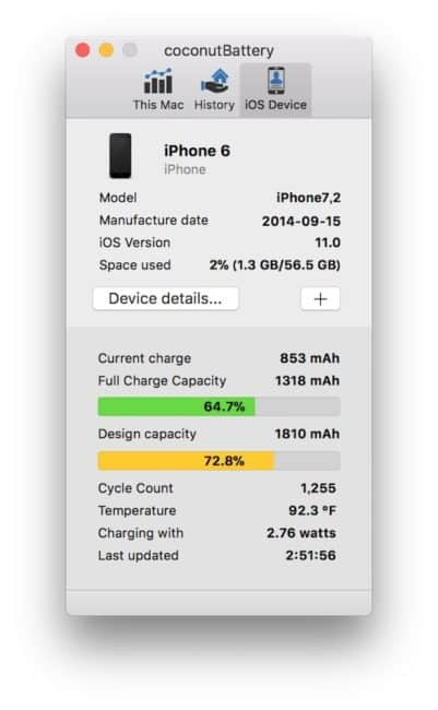 iphone6batterycapacity