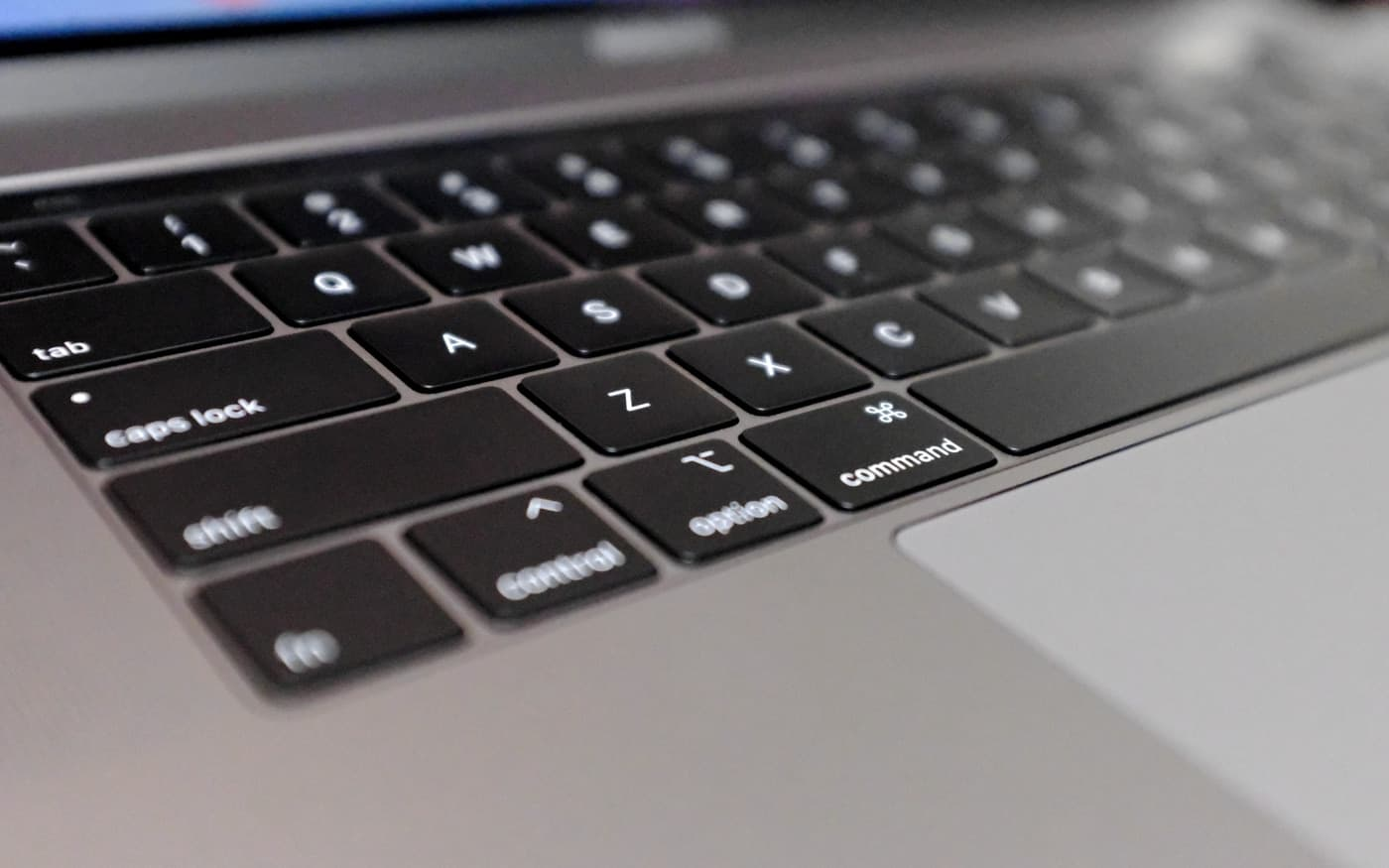 MacBook Pro バタフライキーボード