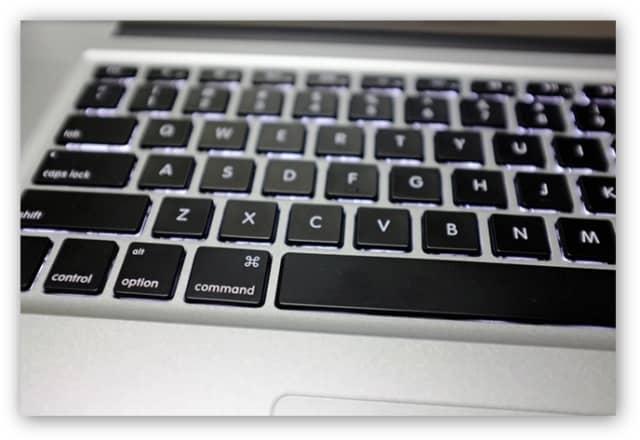MacbookPro 英語キーボード