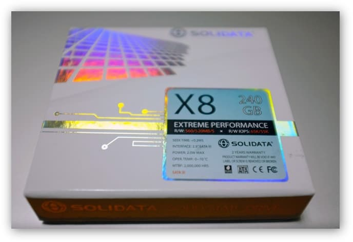 SOLIDATA X8 SSD