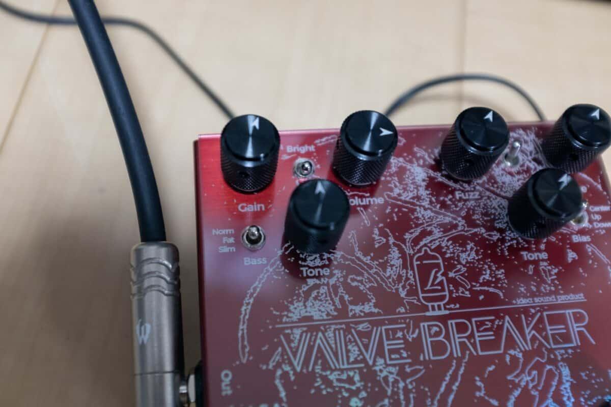 Lee Custom Amplifier × idea sound product VALVE BREAKER