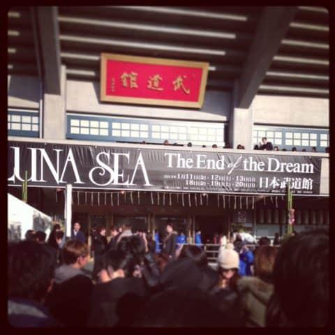 LUNASEA 日本武道館ライブ